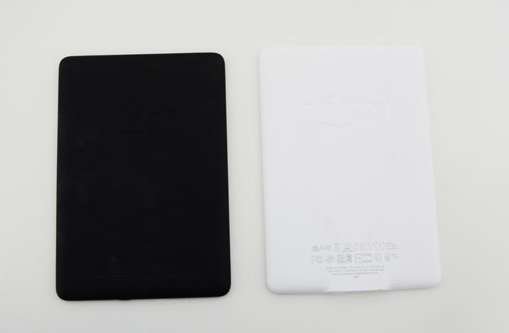 Kindle Paperwihte 3 Kindle Paperwhite 4 tył porównanie czytników ebooków