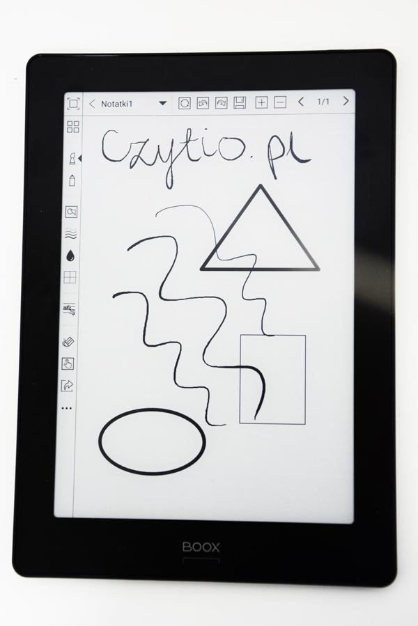onyx boox note s notatnik