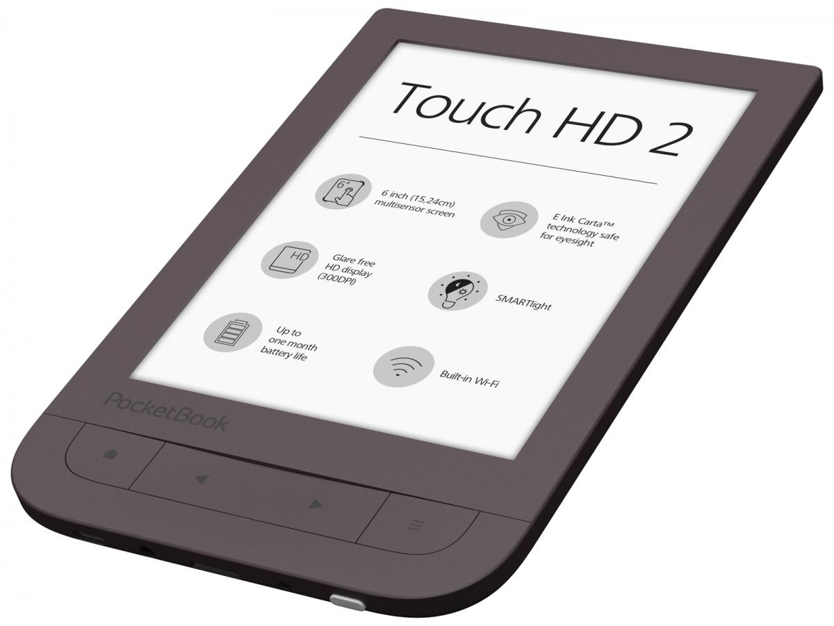 pocketbook touch hd 3 czytnik z podświetleniem smartlight.