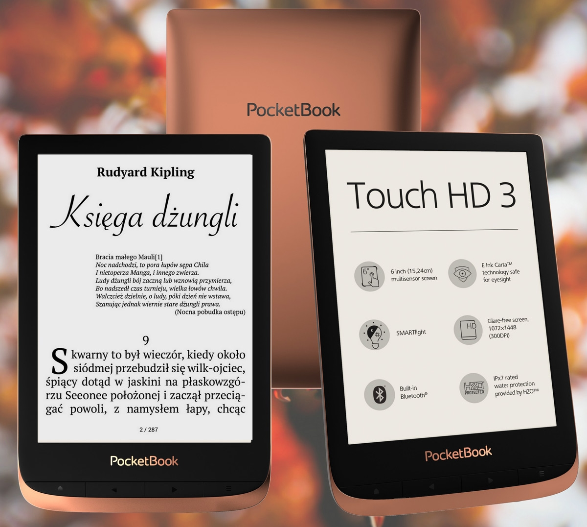 Nowy czytnik PocketBook Touch HD 3