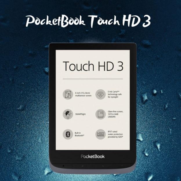 Wodoszczelny PocketBook Touch HD 3