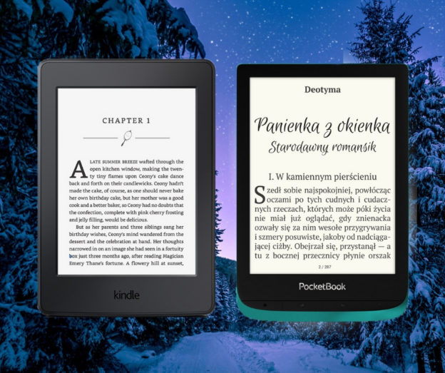 kindle paperwhite 4 pocketbook touch lux 4