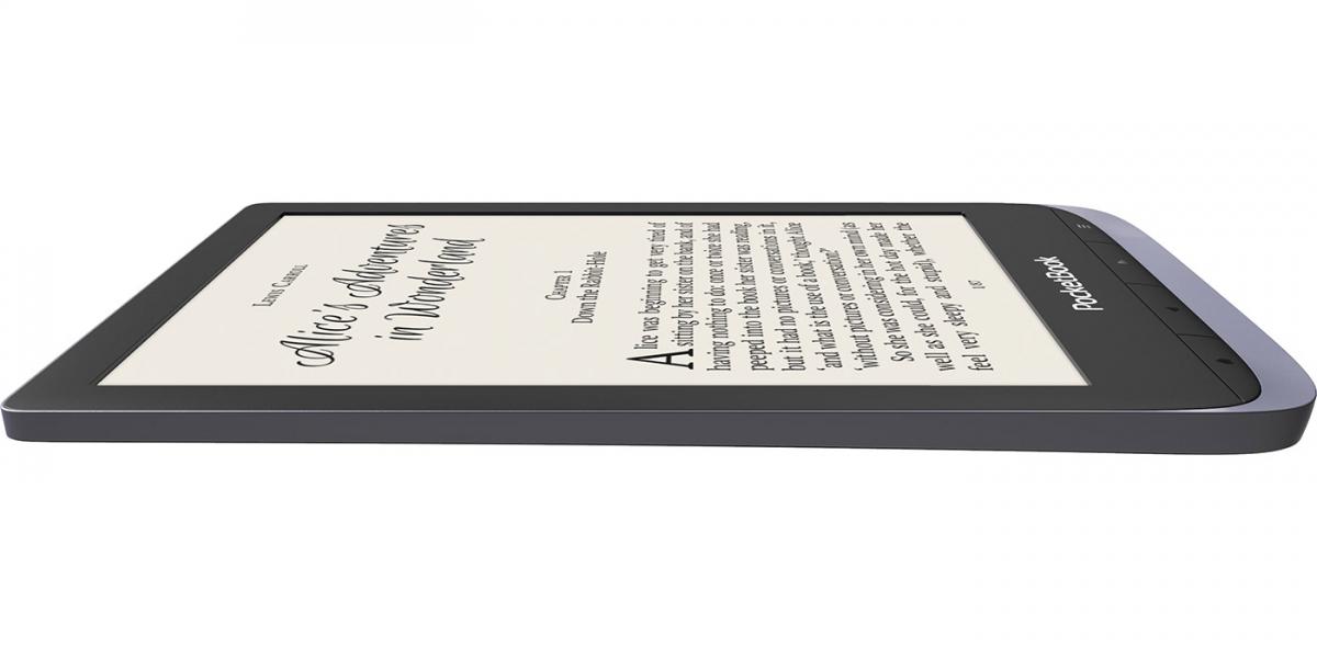 Czytnik PocketBook Touch HD 3 silver podświetlenie SMARTLIGHT wodoszczelny.