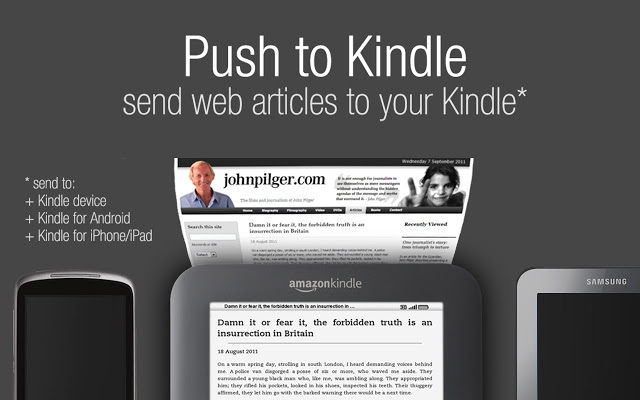 push to kindle
