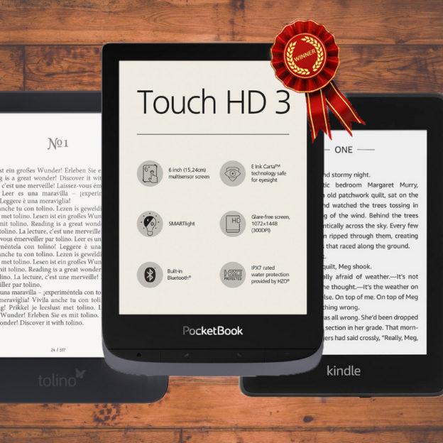 touch hd 3 najlepszy czytnik ebooków.
