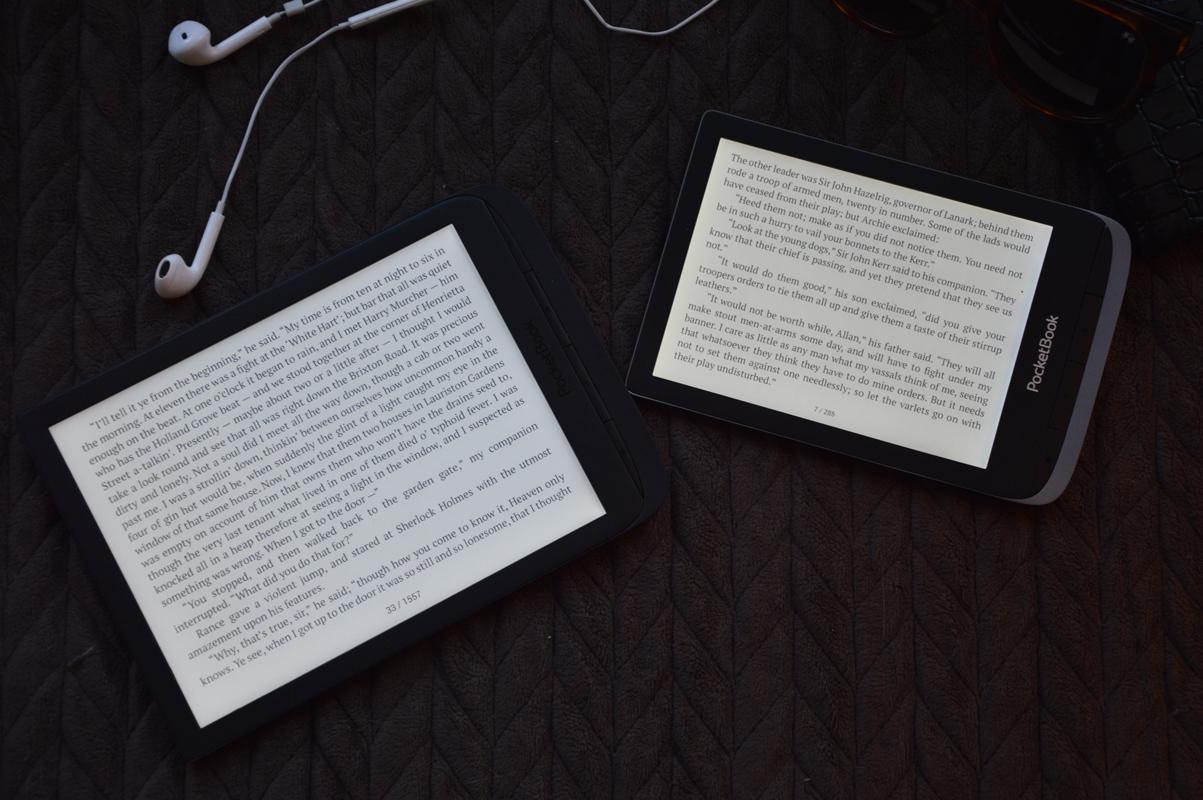 PocketBook InkPad 3 Touch HD 3 akcelerometr