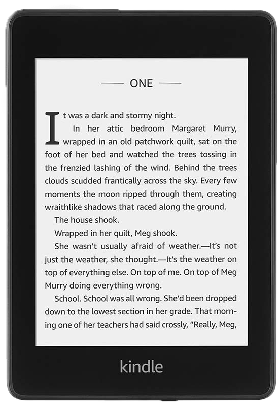 Wodoodporny czytnik Kindle Paperwhite 4