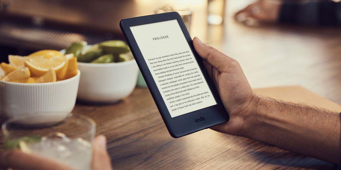 Kindle Amazon 10 6-cali