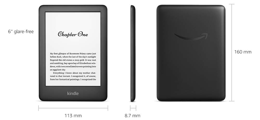 Kindle 10 nowy czytnik Amazon 2019