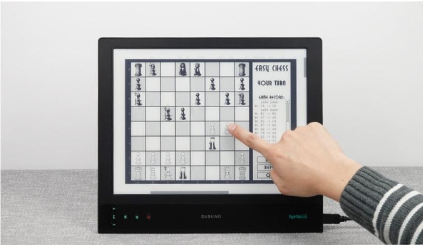 ekran e-ink dasung z podświetleniem