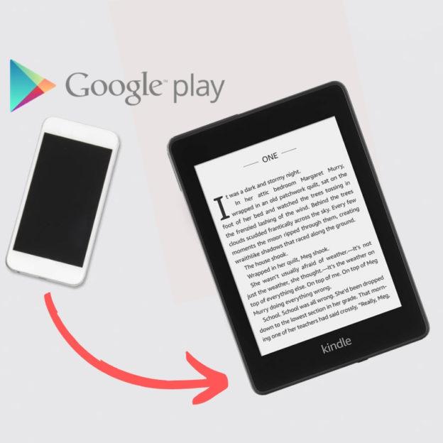 Jak zgrać książki ze sklpeu Google Play na telefon?