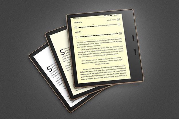 Kindlle Oasis 3 Amazon regulacja podświetlenia nowość