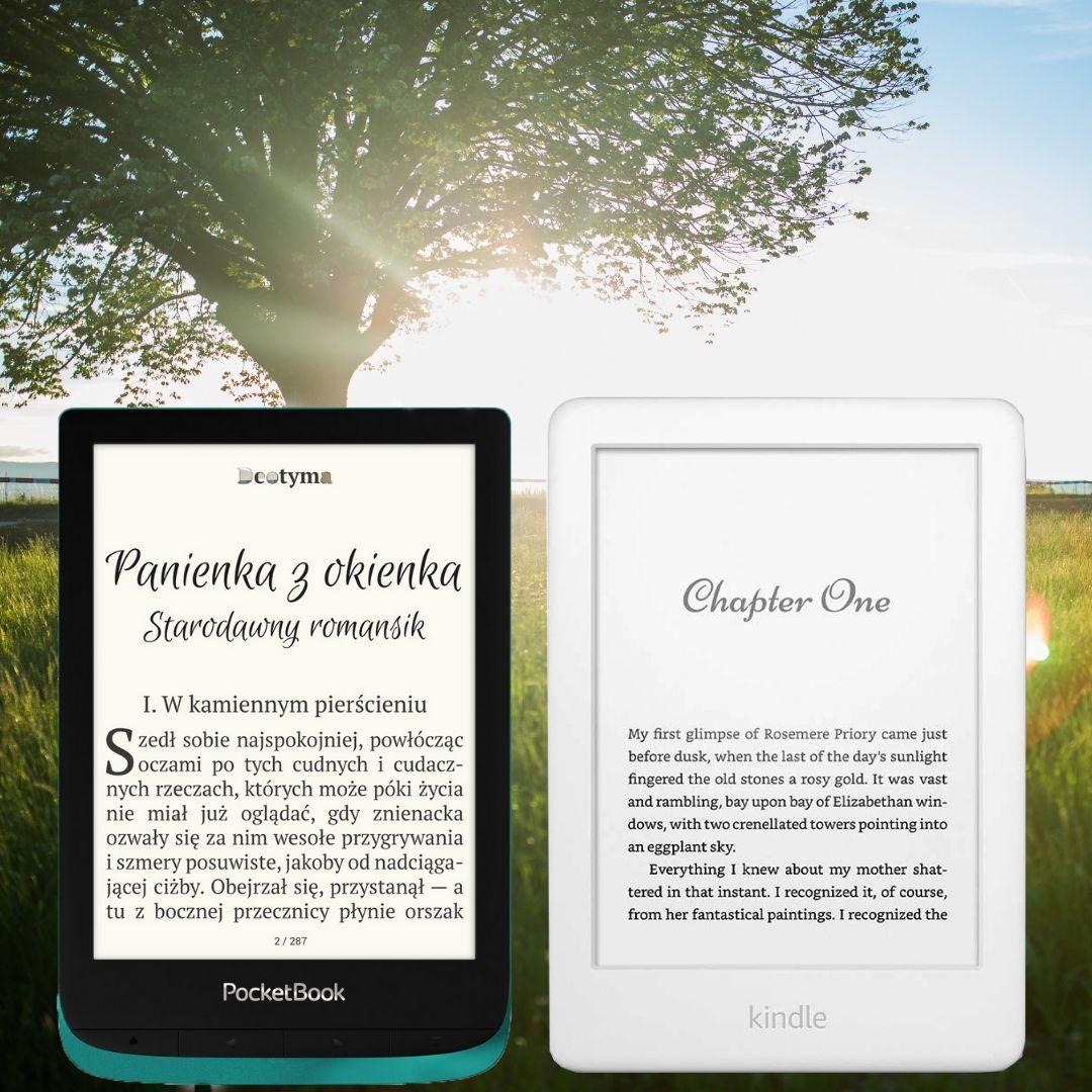 ocketBook Touch Lux 4 Kindle 10 porównanie czytników do 500 zł.