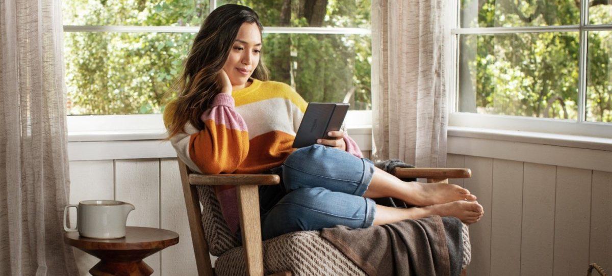 Czytnik e-booków Kindle Oasis z regulacją barwy podświetlenia