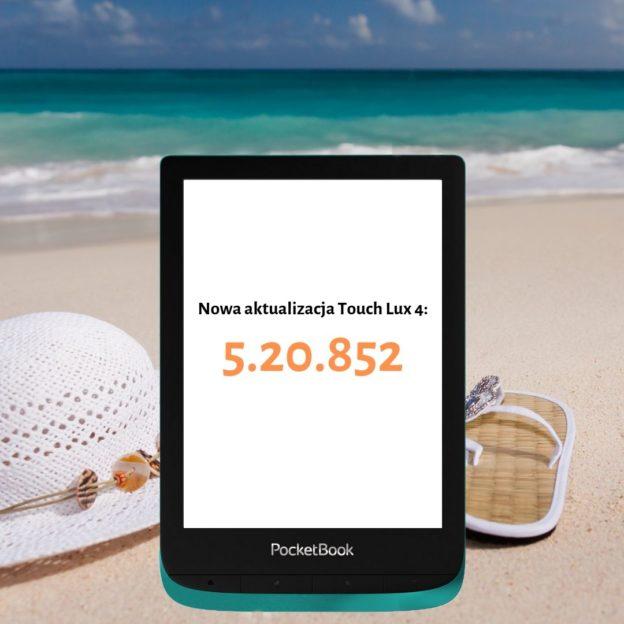 Nowa akualizacja czytników pocketbook touch lux 4 jakie nowe zmiany