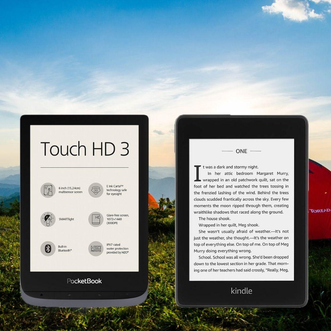 PocketBook Touch HD 3 Kindle Paperwhite 4 porównanie