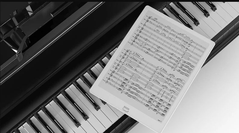 Onyxk Boox Max 3 dla muzyków nuty wielofunkcyjny czytnik z ekranem E-Ink.