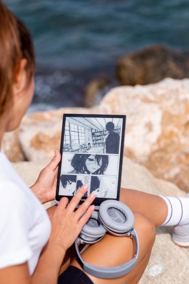 PocketBook InkPad X to doskonały czytnik do czytania komiksów