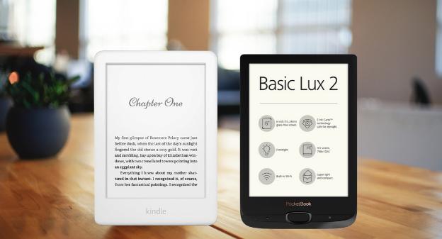PocketBook Basic Lux 2 czy Kindle 10? Który czytnik za 400 złotych wybrać?