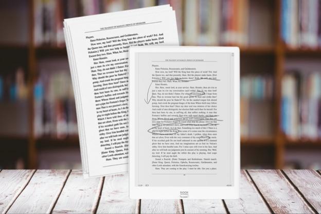 Onyx Boox Max to 13,3-calowy czytnik stworzony do plików PDF oraz tworzenia odręcznych notatek,