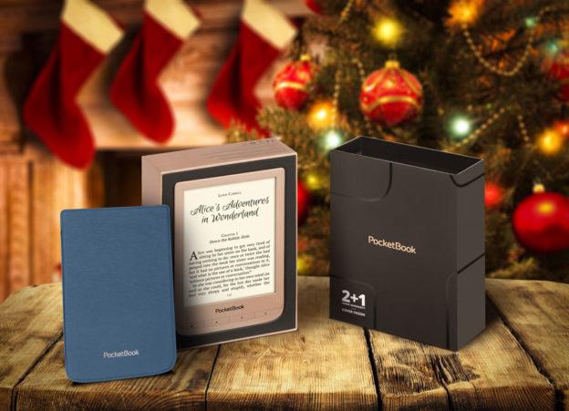 PocketBook Touch Lux 4 Gold w limitowanej świątecznej edycji to doskonały pomysł na prezent pod choinkę.