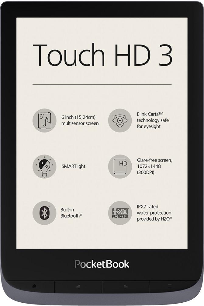 Czytnik e-booków pocketbook touch HD 3 wodoszczelny