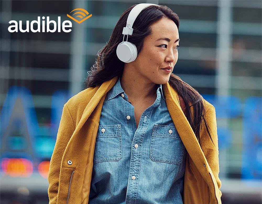 Kindle z możliwością słuchania audiobooków przez aplikację Audible.