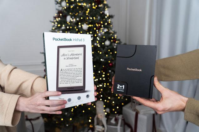 PocketBook InkPad X to doskonały pomysł na  świąteczny upominek.