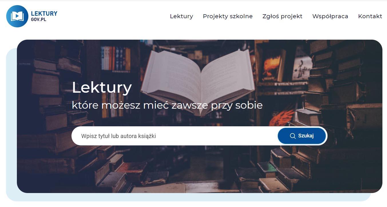 Lektury gov darmowe ebooki