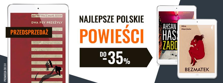 najlepsze polskie powieści czytio.pl