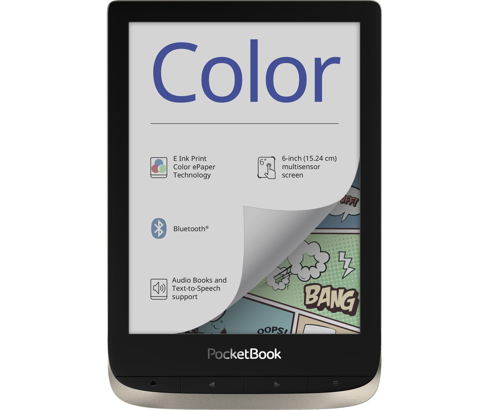 pocketbook czytnik e-booków z kolorowym ekranem