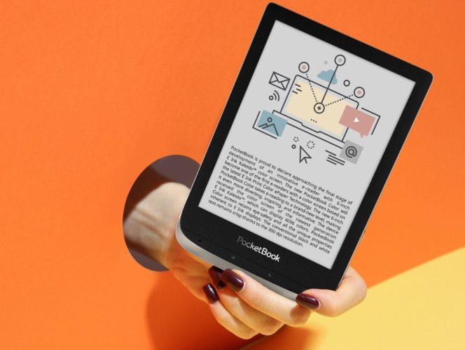 Nowy PocketBook Color już te wakacje czytnik z kolorowym ekranem e-ink