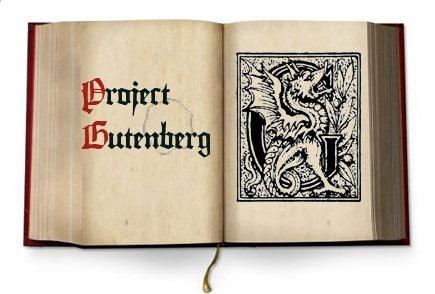 project gutenberg ciekawostki o książkach