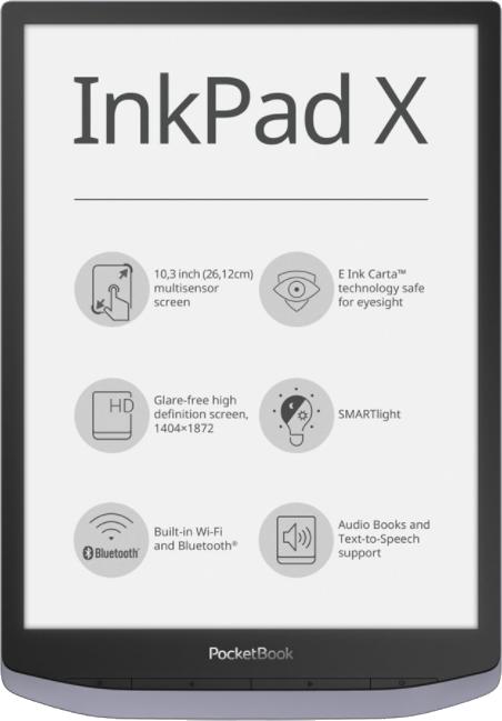 czy na PocketBook Inkpad X działa Legimi