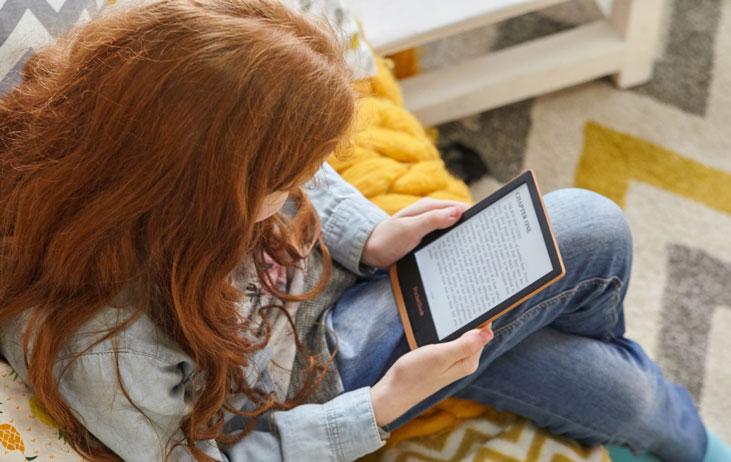 Czytnik e-booków na dzień dziecka