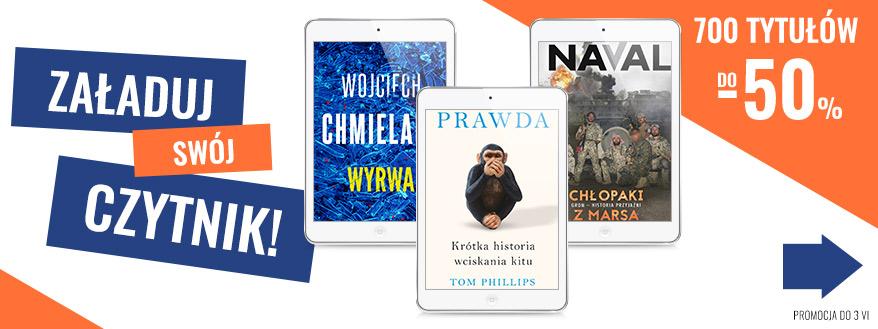 promocje na e-booki maj 2020