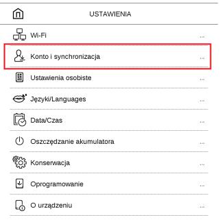 send-to-pocketbook konto i synchronizacja