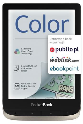 pocketbook color promocja darmowe e-booki