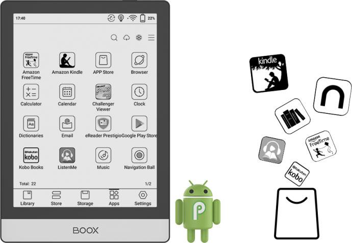 Onyx Boox Poke 2 czytnik z Androidem