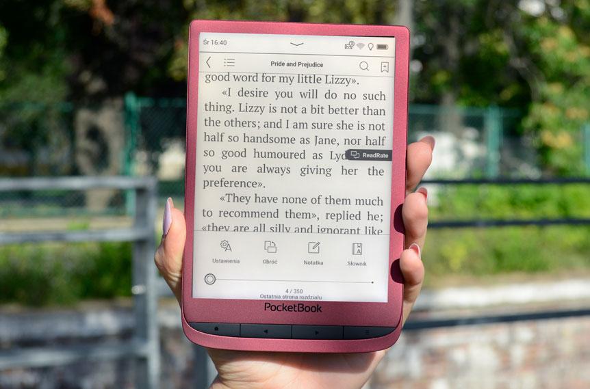 Funkcje czytania pb touch lux 5