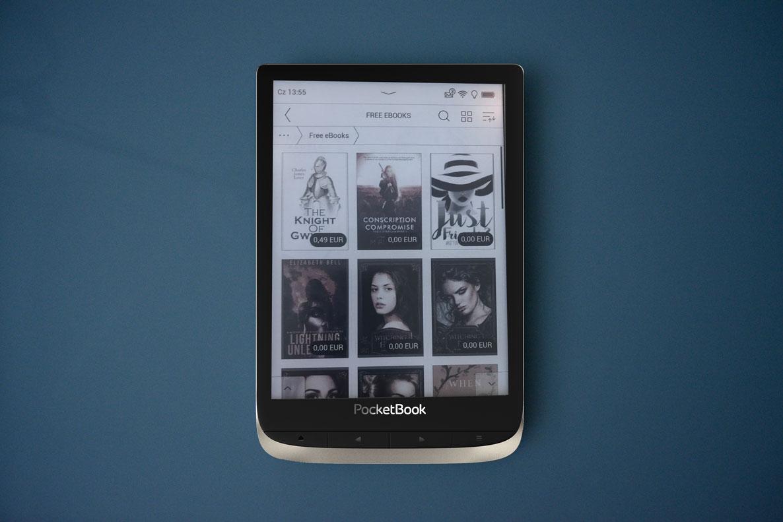 PocketBook Touch Lux 5 kolorowe okładki