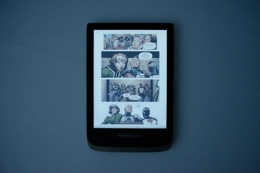 pocketbook color kolorowy ekran