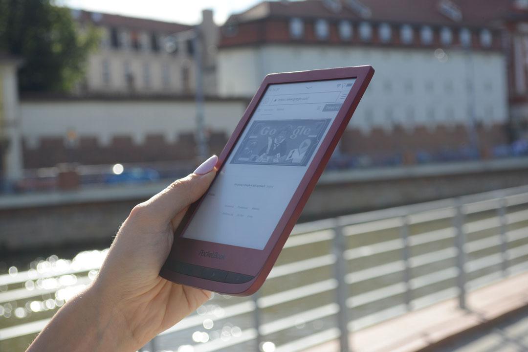 PocketBook Touch Lux 5 przeglądarka