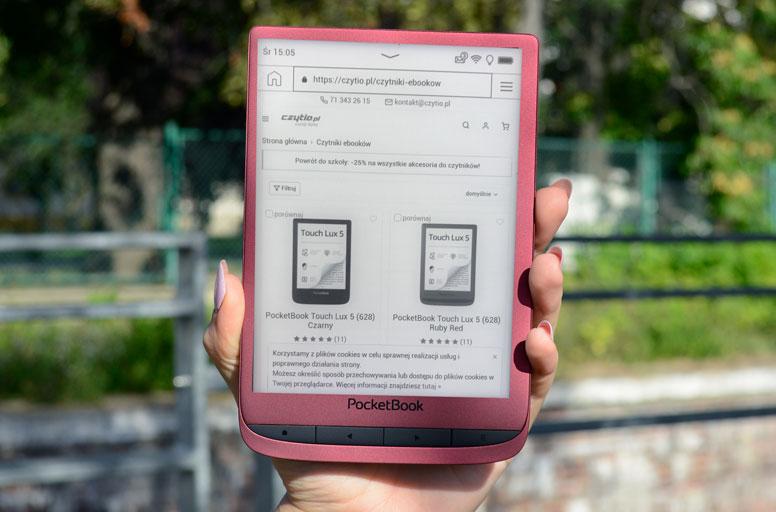 Touch Lux 5 przeglądarka