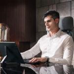 Onyx Boox Max Lumi jako laptop