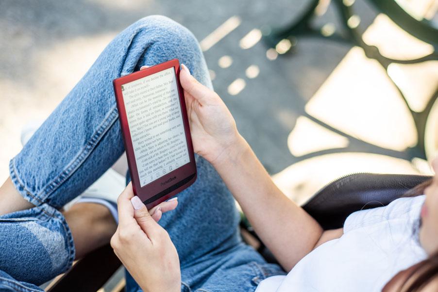 PocketBook Touch Lux 5 Ruby Red najnowszy czytnik PocketBook