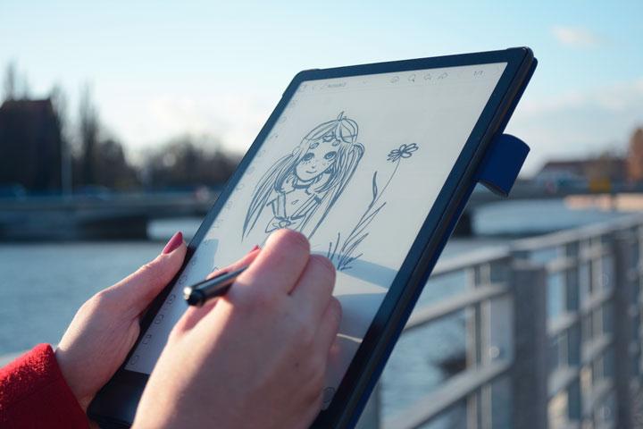 Onyx Boox Note 3 doskonały szkicownik E-Ink i elektroniczny notatnik.