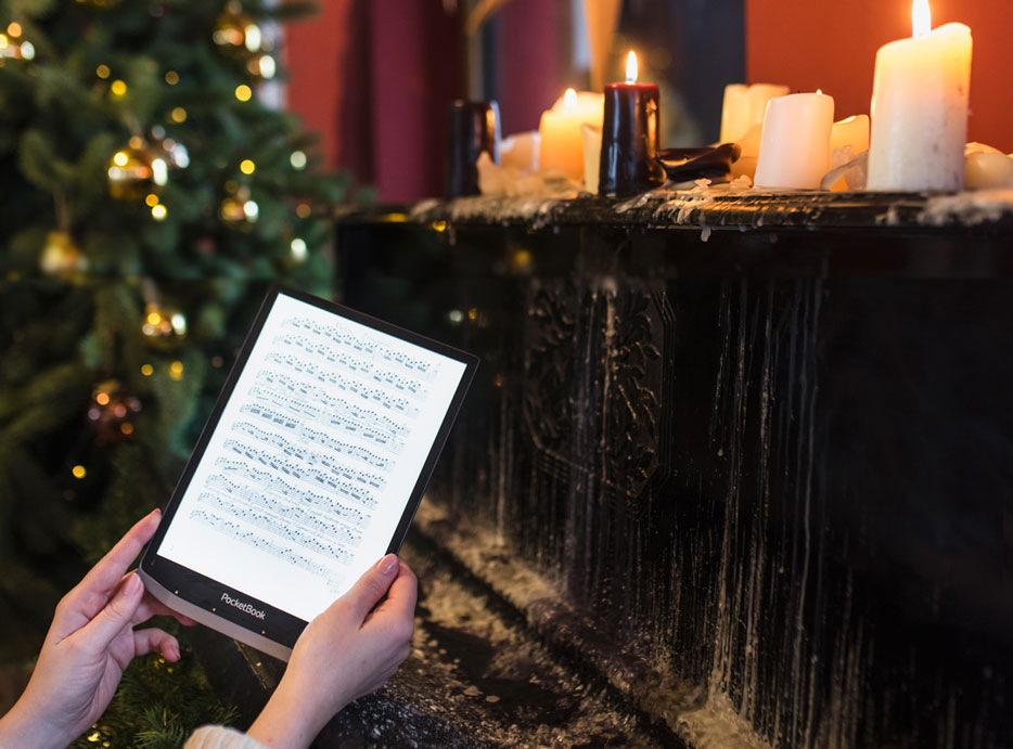 czytnik ebooków na świąteczny prezent