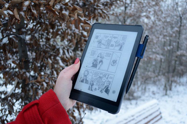 Onyx Boox Nova 3czytanie mangi komiksów i publikacji naukowych