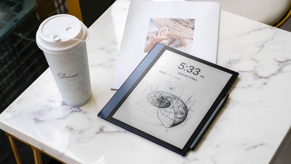 Onyx Boox Note Air czytnik e-booków na którym można pracować z plikami PDF.
